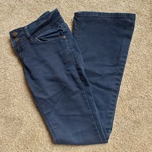 Wallflower Flared Blue Jeans Juniors Size 3